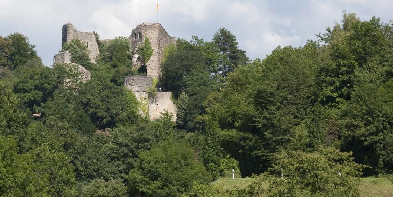 Badenweiler Castle; Photo: Staatliche Schlösser und Gärten Baden-Württemberg, Achim Mende