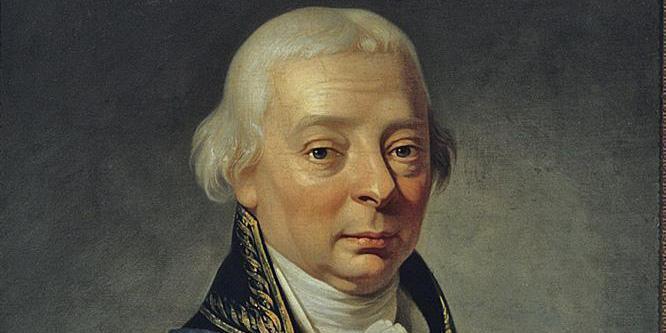 Bildnis Markgraf Karl Friedrich von Baden, um 1790; Foto: Staatliche Schlösser und Gärten Baden-Württemberg, Steffen Hauswirth