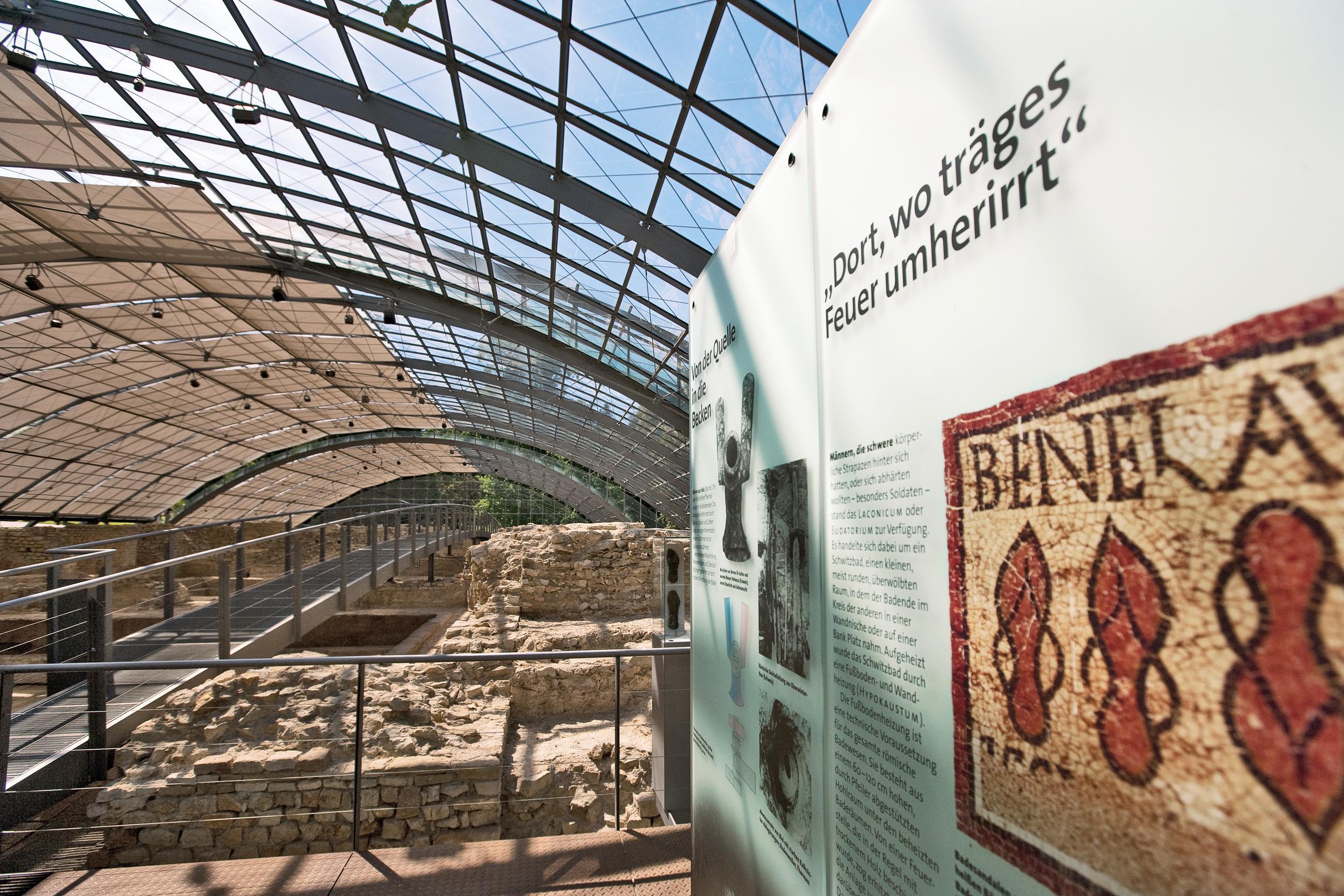 Vestiges Des Bains Romains De Badenweiler Photos De Presse