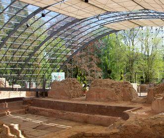 Innenbereich der römischen badruine Badenweiler
