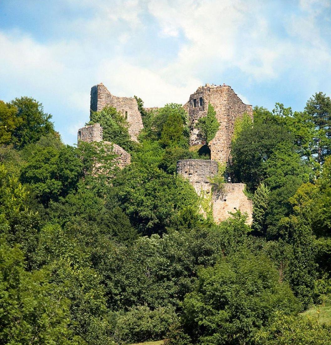 Badenweiler Roman Bath Ruins, exterior view