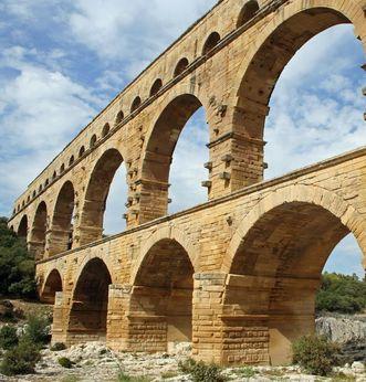 Pont du Gard in Südfrankreich