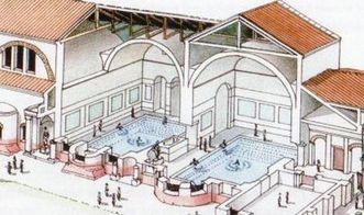 Ausschnitt aus einer detaillierten Rekonstruktion einzelner Bauphasen